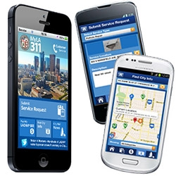 Finally! MyLA311 app for android and ios ~ submit service requests, find city resources nearby, and more!