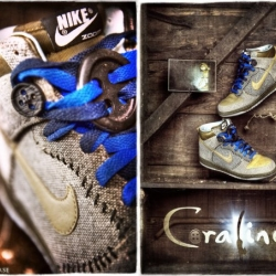 Photos of the mysterious Coraline Dunks!