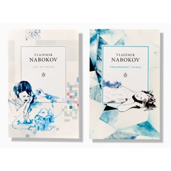 Angus Hyland and his team have designed seven new book covers for Penguin's Vladimir Nabokov series. Covers each feature a different game, sport or visual illusion as the background pattern, and echos the content of the book.