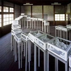 The Floating Dive by Masahiko Kiyooka at Nakanojo Biennale 2011.