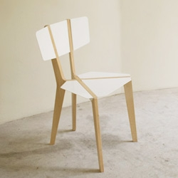 The Naked Chair by international design studio Outofstock. Beautiful, simple, flat-pack. Forget Ikea!