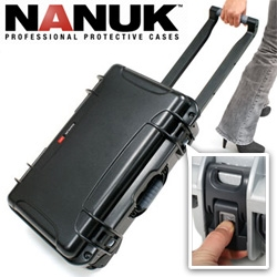 On CES temptations ! NANUK's protective cases are gorgeous and can handle anything... love the powerclaw  closures and the new roller bag is coming this year!