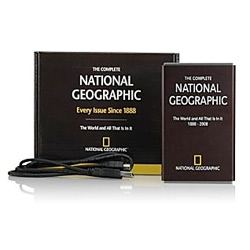 Wow - every issue of national geographic since 1888! On a 160GB HD!