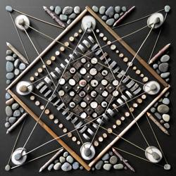 Mosaic Mandala Series : Native Utah Elements. The process and results of Matt W, Moore's artist residency with SUMMIT in Eden, Utah.