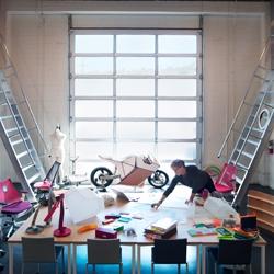 Inside Yves Béhar's studio by Jonas Fredwall Karlsson.