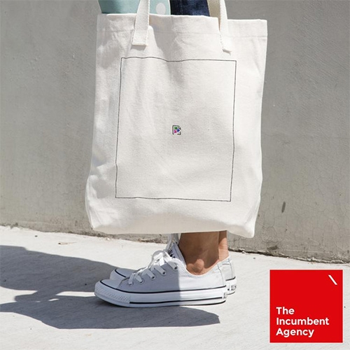 This tote bag by The Incumbent Agency features a broken image link. Please refresh your tote or try again later.