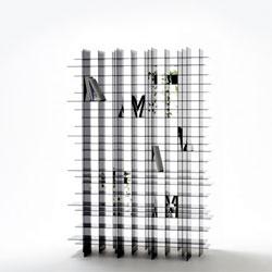 Scatter shelf by Nendo.
