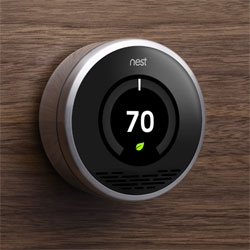 Awesome concept: No more programming, no more constantly changing the temperature. The NestTM Learning ThermostatTM programs itself in a week to keep you comfortable and save energy.