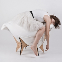 NEST CHAIR by Allt : It thus gives you a chance to sit comfy, vary your position and also to get up easily.