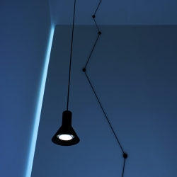 Pendant Light N-EURO by Davide Groppi x Beppe Merlano.