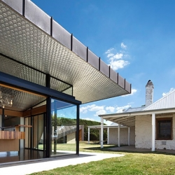 Old and new mingle at this recent update of an 1850's Australian ranch house, March Studio's first residence.