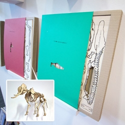 Inside Nature's Giant anatomical scale models! Great project work from Ross Penrose for the amazing series. The models are precut and detailed by laser, ready for assembly and come with a book about the species too.
