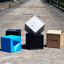 Introducing the Totem stool, the debut product from Sydney based design studio Anaesthetic. Totem stools are cleverly designed to stack in a unique way, instilling fun and creativity in the user.