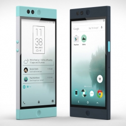 Nextbit's Robin Smartphone - a cloud-based mobile device that optimizes its storage automatically, providing 100Gb of additional storage in the cloud.