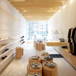NEZU AYMO has been commissioned to design the renovation of the interior of a Japanese shop (Japanse Winkeltje) located in the centre of Amsterdam.
