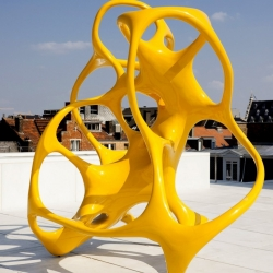 Belgium-based artist Nick Ervinck created sculptures using computer-aided design.