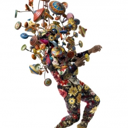 Nick Cave's Soundsuits are physical manifestations of his energy. He has said, 'I believe that the familiar must move towards the fantastic. I want to evoke feelings that are unnamed, that aren't realized except in dreams.'