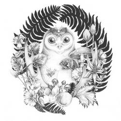 Illustrator Nicomi Nix Turner's stunning new night themed collection.