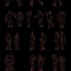 Artist Niege Borges Alves has created a series of illustrations of famous dances from film and television. The project is called Dancing Plague of 1518 and features dances from Napoleon Dynamite, Arrested Development and Pulp Fiction, among others.