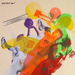 McCann created a call-for-entry poster for the annual Nike Basketball League Competition, the most prestigious and competitive Basketball League in Hong Kong. The creative team literally translated the spirit of competition onto the posters.