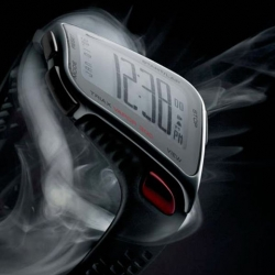 "This may look like one of those ""concept"" products, but Nike's curved Triax Vapor LCD watch is anything but vaporware."