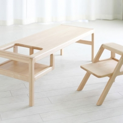 Awesome kid furniture designed by Oji Masanori.