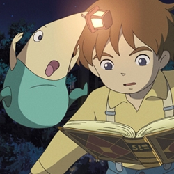 Ni No Kuni: The Another World is an upcoming Nintendo DS video game set for release in 2009 in honor of game developer Level5's 10th year anniversary. The entire game will be animated by Studio Ghibli. Watch the trailer...