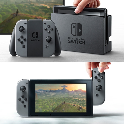 Nintendo Switch - console, handheld, super modular gaming... everything in one?