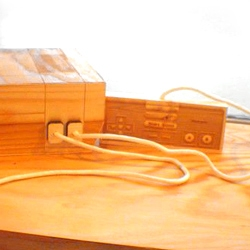 Nintendo NES wood sculpture. Extremely detailed.