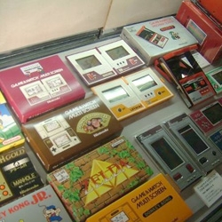 WOW. I still have a stack of game&watch games in my closet somewhere... check out this great gallery at Koatku of the new Nintendo Museum.