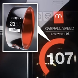 Nissan Nismo Watch ~ smart watch that syncs to your performance car. Awesome packaging - allen wrench built into the box to unscrew it all... rubber coating from scraping the tire rubber off the track...