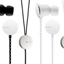 Nixon is shortly releasing an awesome set of headphones, in both ear bud and classic over the ear style.