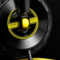 Third Man Records partnered with Nixon, the watch/headphone/bag powerhouse, to release a limited edition set of Master Blaster Headphones