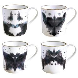Luna & Curious x welovekaoru Ink Blot Mugs