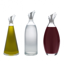 "Dripping bottles can be a problem. Spanish designer Noro has solved the problem with something called the ""Two lip system"". And it doesn't hurt that the bottles themselves are really pretty..."