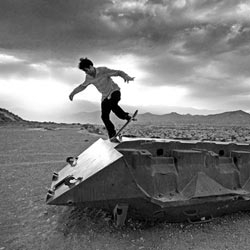 An amazing series of images by LA based photographer Noah Abrams on the emerging skateboarding scene in Afghanistan.