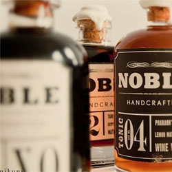 Cute packaging for Noble Handcrafted.