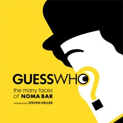 "Noma Bar's ""Guess Who? The Many Faces of Noma Bar""."