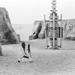 No More Stars by Ra di Martino is a series of photographs taken in the abandoned movie sets of the film Star Wars saga, filmed through the years in different locations in the south of Tunisia