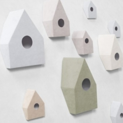 Nendo designed this rather clever little 'Non-Slip Birdhouse'.