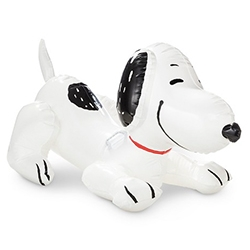 Snoopy Ride-On Pool Float - will this become the new inflatable swan of the summer?