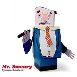 Free Papertoy by illuntic.de: