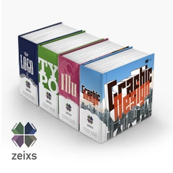 They finally arrived from press: Zeixs - four books full of inspiration and design excellence  showing about 2200 artworks from more than 400 international designers. Have a look :)
