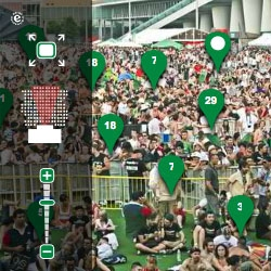 Heineken makes the biggest panoramic photo ever made in a live event!Tag Your Face.