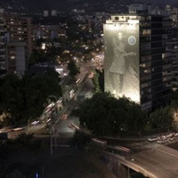 Really Amazing pictures of Santiago de Chile by Night.  Work of the young photographer Carolina Parrague.