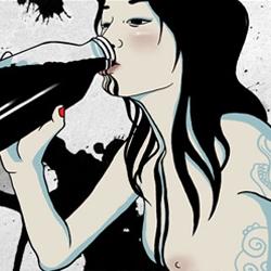 Miu Mau: Amazing doomed cancer-artist!