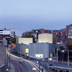 Nottingham Contemporary Art Center, one of the winners of the 2010 RIBA Award. Designed by Caruso St. John architects.