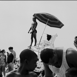 The Michael Hoppen Gallery in Brompton, London, is exhibiting Joseph Szabo's Jones Beach photographs.