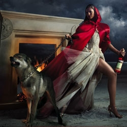The new 2008 9th edition Campari Calendar featuring the wild doll Eva Mendes captured by Italian photographer Marino Parisotto.