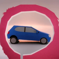 The Making Of 'Just Add Fuel', a Peugeot ad made entirely out of paper. Created by London designer Kyle Bean and director Joseph Mann.